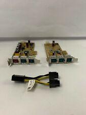 Dell 5WDTX 08R06D POS Card 1x24v 5x12v Powered USB Pci-e 05WDTX