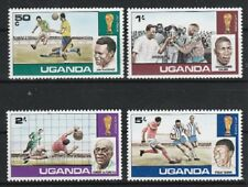 v5236 Uganda/ Fussball-WM 1978   MiNr 171/74 **