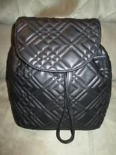 "NWOT Merona Black Backpack Faux Leather W13"" L11"" Depth5"" Drawstring"