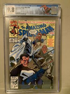 Amazing Spider-Man #355 CGC 9.8 Punisher Moon Knight Custom Limited NY Label