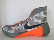 NEW - NIKE Hyperdunk 2015 PRM Gray Camo Men's Shoes 749567 001 - Sz 11