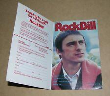Rockbill Magazine - Paul Weller cover - February 1984 - Jam, Style Council -RARE