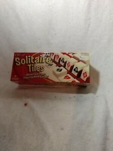 Official Solitaire Tiles Game 2002 Winning Move Games