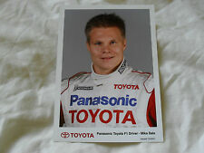 7 x 5 MOTORSPORT PRESS PHOTO - TOYOTA F1 - MIKA SALO