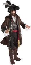 Captain Darkheart Adult Mens Costume Carribean Pirate Buccaneer Halloween