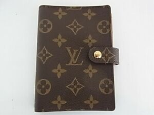 Auth VQ06 LOUIS VUITTON Monogram Agenda PM R20005 notebook cover from Japan