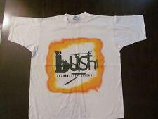 "1997 Bush White ""Razor Blade Suitcase"" Concert Shirt-Never Worn + Backstage Pass"