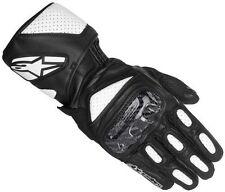 Gants noirs en cuir pour motocyclette Homme taille XL