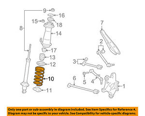 48231-53390 Toyota Spring, coil, rear 4823153390