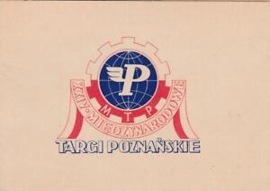 POLAND 1955 PHILATELIC CARD USED WARSAW