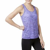 Ideology Womens Blazing Purple Yoga Fitness Running Tank Top Athletic NEW NWT
