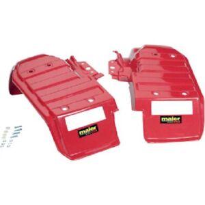 Maier Mfg Honda ATC250ES Big Red 1985-1987 Rear Fenders Red Left & Right 118952
