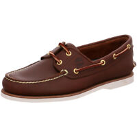 Timberland Classic Boat Shoes 74035 Brown Deck Loafers Classic GENUINE BNIB Mens