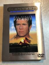 The Patriot (DVD, 2002, 2-Disc Set, Superbit Deluxe) (1) WIDESCREEN!