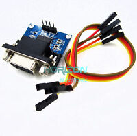 10pcs MAX3232 RS232 Serial Port To TTL Converter model Female DB9 COM Serial