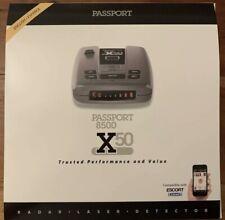 Escort Passport 8500 X50 Radar/Laser Detector