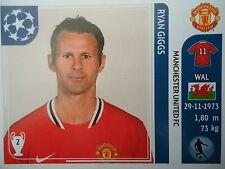 Panini 147 Ryan Giggs Manchester United UEFA CL 2011/12