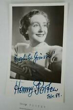 Henny Porten  Original  Autogramm signed Autograph