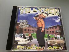 CD: YO LYNCH - Lynchland (2000 404 Music Group)Rare Memphis Rap G-Funk Al Kapone