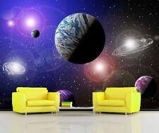 Alien Planeten Solar System Raum Sci Fi Foto Wandtapete Wandgemälde 335x236cm