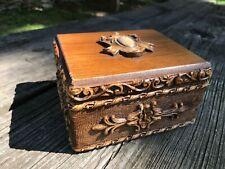New ListingVintage Wooden Jewelry or Trinket Box
