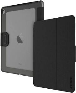 Incipio Clarion iPad Pro 9.7 Translucent ShockProof Folio Case Cover/Stand Black