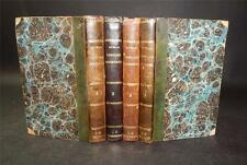 1823 Paul Scarron ROMAN COMIQUE in 4 Volumes NICELY BOUND SET
