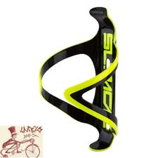 SUPACAZ FLY CAGE CARBON FIBER NEON YELLOW WATER BOTTLE CAGE