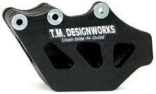 TM Designworks Factory Ed Chain Guide BLACK Kawasaki KX125/250 97-08 _RCG-KX2-BK