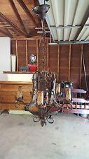 Antique Spanish Revival Chandelier