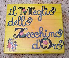 BOX CON 3 CD IL MEGLIO DELLO ZECCHINO D'ORO, NUOVO E SIGILLATO, BMG SONY, SIAE.