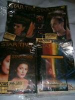 Star Trek Collectors Edition Magazines & DVDs x 4