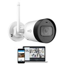 Oco Standard Surveillance Camera Wireless Microphone Zoom Cables Bullet White