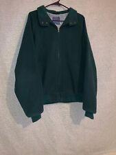Vintage Pendleton Woolen Mills Men's Green  Jacket Coat Country Traditionals XL