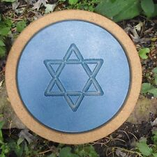 """Star of David stepping stone mold 12"""" x 1.5"""" thick"""