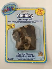 Webkinz Camo Cargo Pants with code