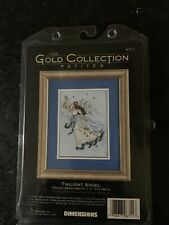 Dimensions Gold Petites Counted Cross Stitch Kit Twilight Angel New #6711