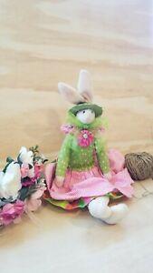 "RAZ Imports 23"" Plush-Bunny Carol King-Paula Buttel Adjustbl 8"" Ears"
