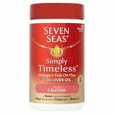 SEVEN Seas One-A-Day Olio di Fegato di Merluzzo Plus CALCIO (90)