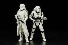 Kotobukiya Star Wars First Order Snowtrooper Flametrooper 2-Pack Artfx+ PREORDER