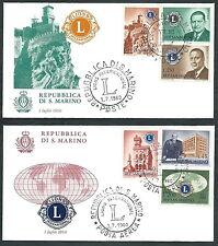 1960 SAN MARINO FDC ALA LIONS NO TIMBRO DI ARRIVO - RD7