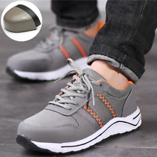 Men's Mesh Safety shoes Steel Toe Casual Breathable Sports Hiking Construction
