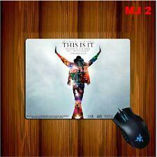 Michael Jackson tappetino per mouse-pad addensare 25cm x 19cm x 0.5cm MJ 0692