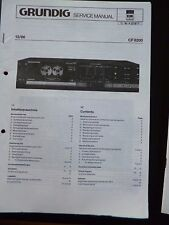 Original Service Manual  Grundig CCF 8300