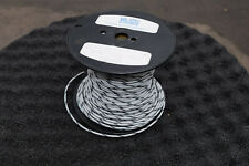 WHITE/BLACK 12 AWG Wire Ethylene 350' Tetrafluoroehtylene Tefzel M22759/16-12