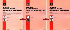SHOP MANUAL SOLSTICE SKY SERVICE REPAIR BOOK 2009 PONTIAC SATURN GXP REDLINE