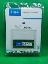 Crucial 8GB DDR4 2400MHZ SODIMM 260 Memory CT8G4S24AM apple Laptop Ram 1x8GB pc4