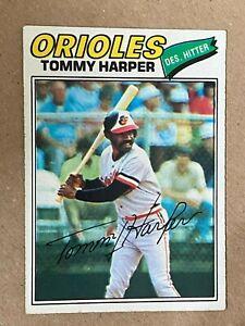 Topps 1977 #414 Tommy Harper - Baltimore Orioles