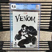 Marvel Venom #1 First Issue Origin 2017 Todd McFarlane Sketch Variant CGC 9.6