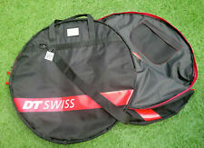 DT Swiss Pair of Single Wheel Bags K12390A  Black-Red   A17